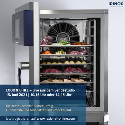 RATIONAL & IRINOX: Mehr Produktivität durch Cook & Chill